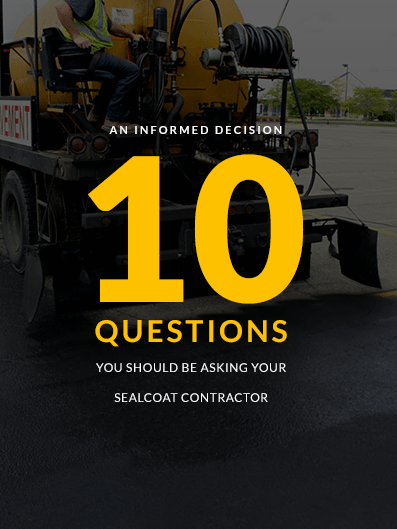 10 Questions for Your Sealcoat Contractor image