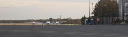 Martha's Vineyard faded runway
