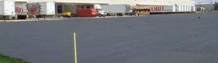 Toro Facility new pavement parking lot