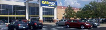 CarMax new black parking lot