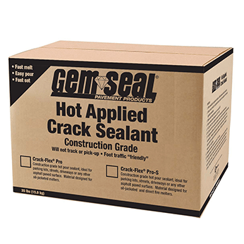 GemSeal Crack-Sealant brown box
