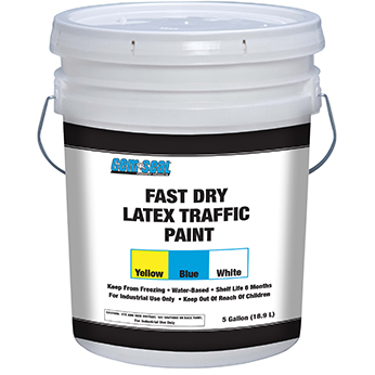 Fast Dry Latex Paint bucket