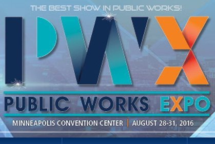 Public Works Expo 2016 invite