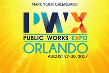 Public Works Expo in Orlando Florida