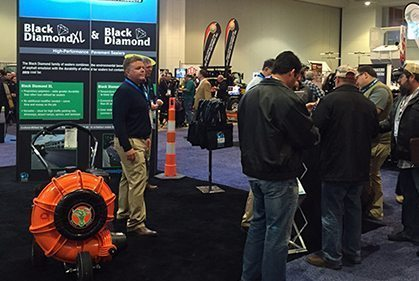 GemSeal exhibit at National Pavement Expo in Cleveland