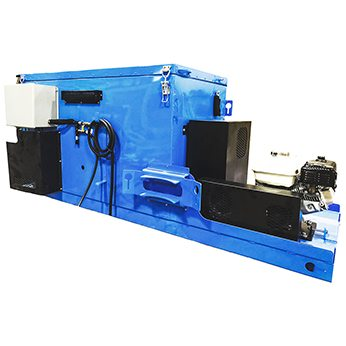 Blue Mastic Mixer