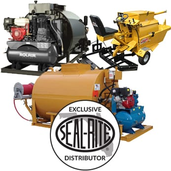 multiple sealcoating equipment